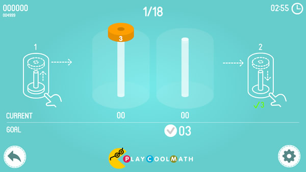 Math Tower of Hanoi Screenshot 2
