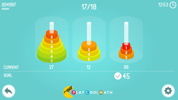 Math Tower of Hanoi Screenshot 4
